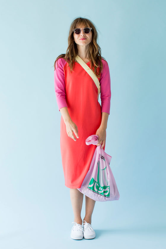 Sonnet James - REMI PONTI - CORAL/BERRY - Dress
