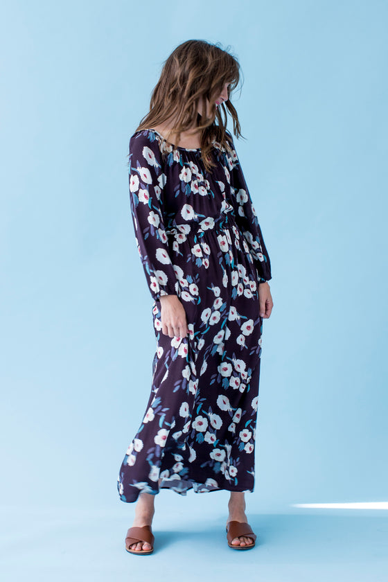 Sonnet James - VIOLET - KATRIEN FLORAL - Dress