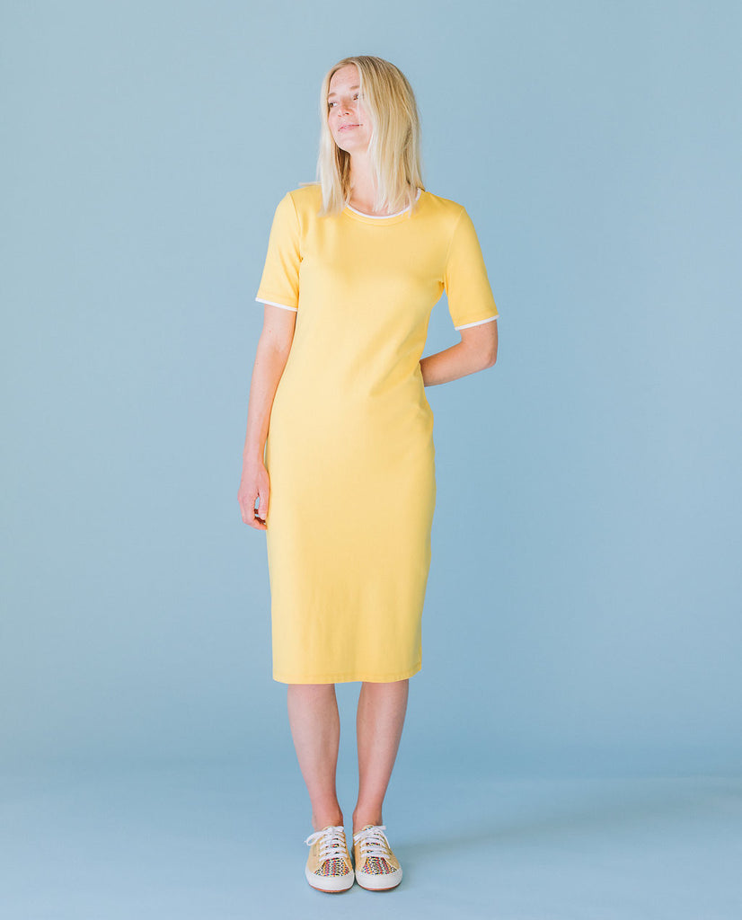 Sonnet James - MAY - YELLOW - Dress