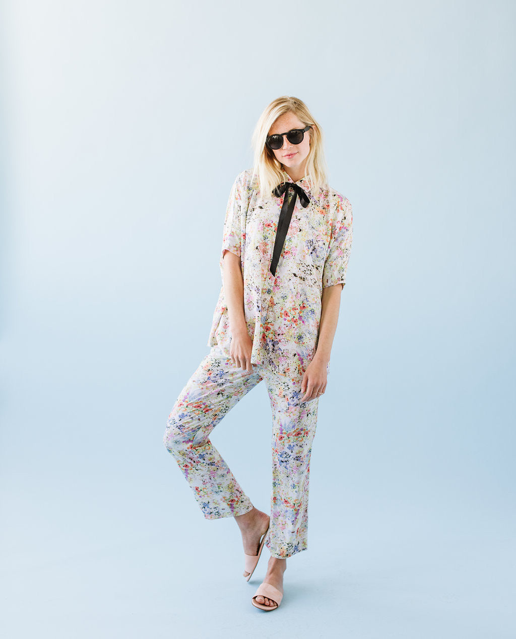 PLAYSUIT - FLORAL