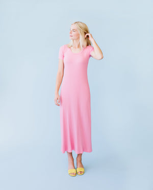 Sonnet James - JOY - Dress,Pink Rib