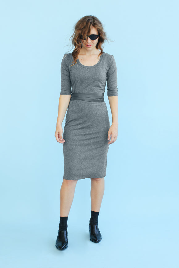 Sonnet James - MARGOT - HEATHERED GREY - Dress