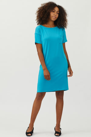 Sonnet James - Scout-T-Shirt - Dress,Aqua