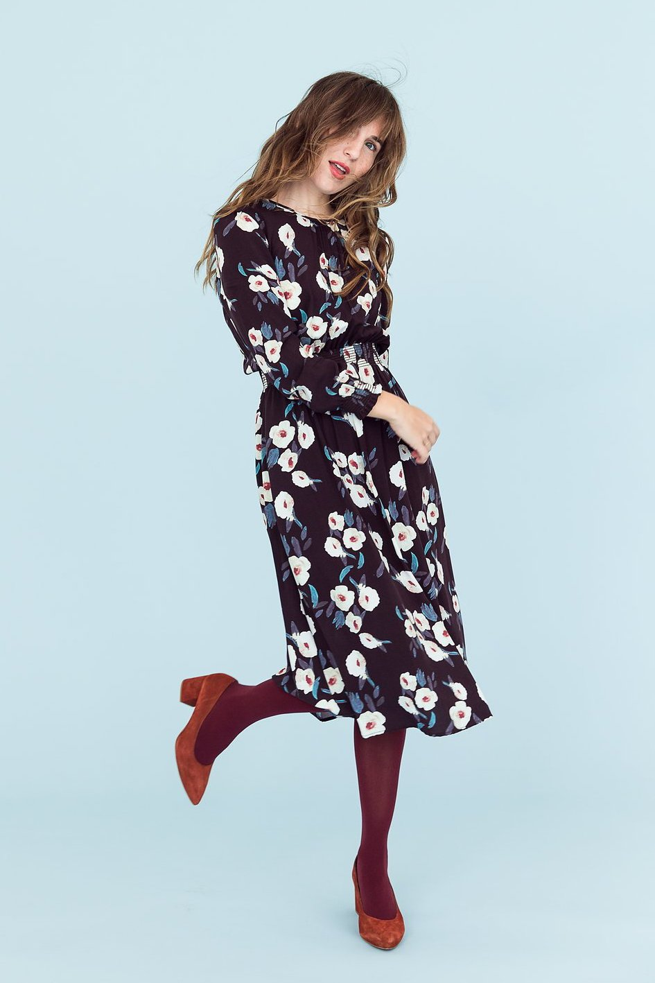 Sonnet James - SUNDAY - KATRIEN FLORAL - Dress,Sunday Floral