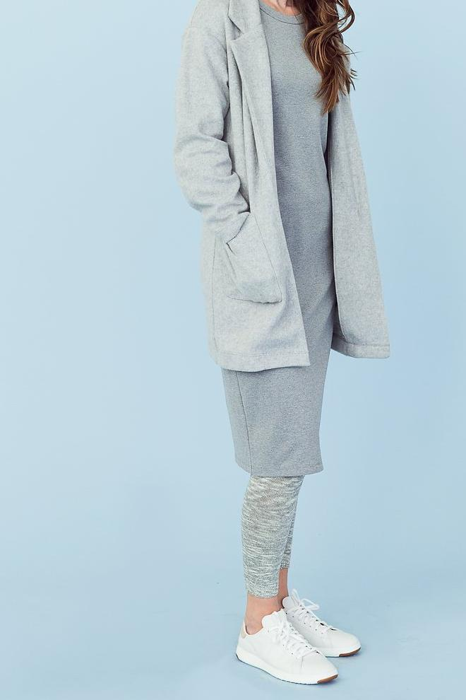 Sonnet James - TALL REESE - GREY (SOLID) - Dress