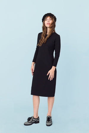 Sonnet James - REESE - BLACK (SOLID) - Dress,Black