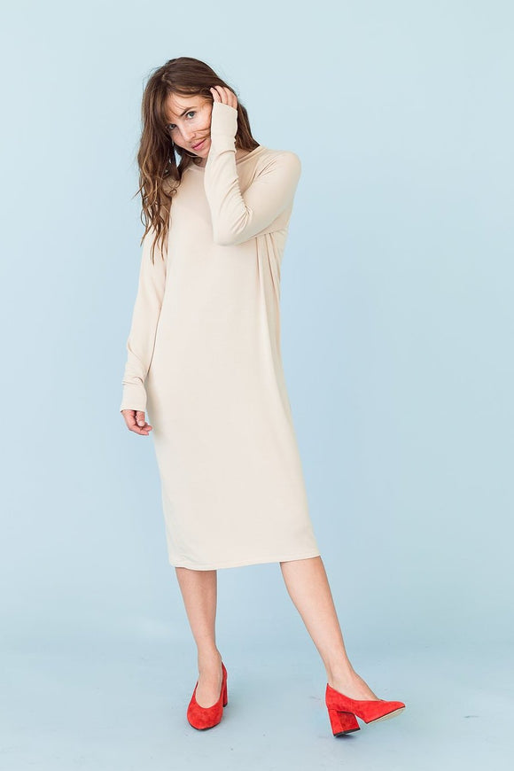 Sonnet James - SWEATER - SAND - Dress