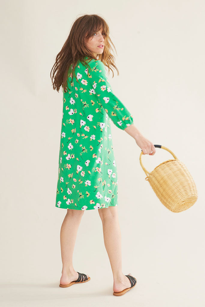 Sonnet James - GEORGIA - GREEN - Dress,Green Floral