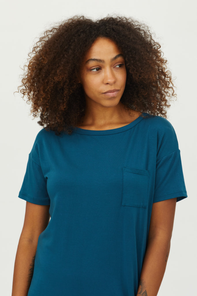 Sonnet James - Scout-T-Shirt - Dress,Teal