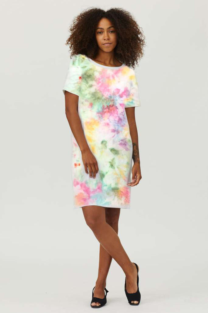 Sonnet James - Scout-T-Shirt - Dress,Tie Dye