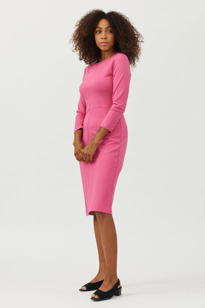 Sonnet James - Winnie - Straight knee-length everyday dress - Dress,Pink
