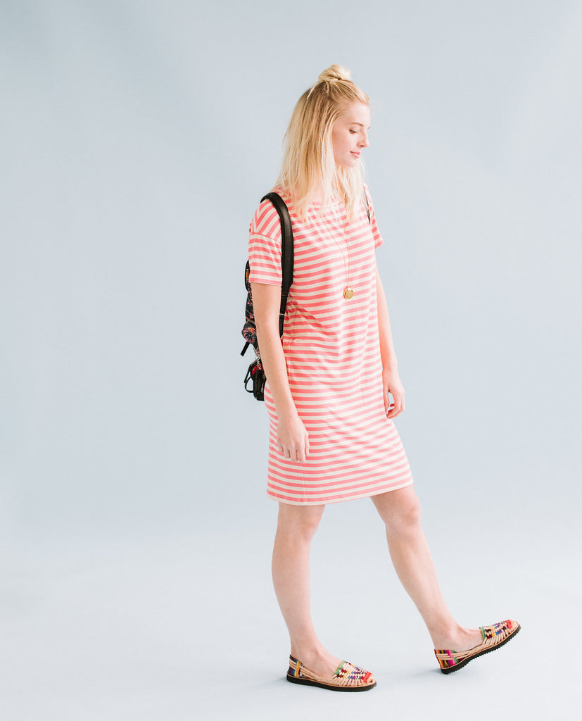 Sonnet James - SCOUT - BEIGE/CORAL - Dress