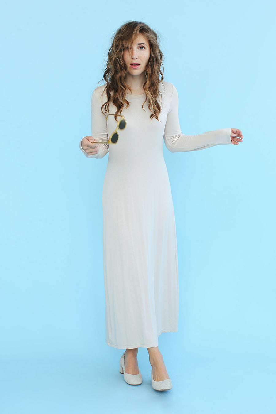 Sonnet James - IMMY - SAND - Dress  ,Immy Sand