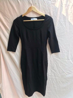 *Juliet-Scoop Neck- Black