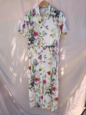 JUMPSUIT - WHITE FLORAL