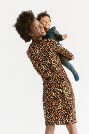 Sonnet James - REESE - LEOPARD - Dress,Leopard-Ponti