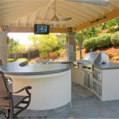 Outdoor Kitchen, Frames/Islands & Accessories