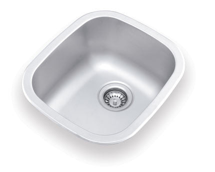 UN345 Dual Mount Sink Bowl 18x15x9