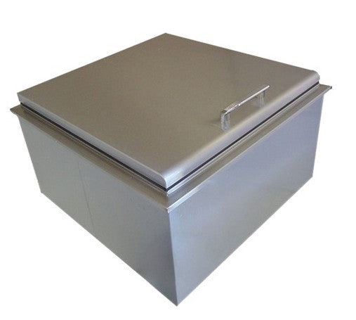 "UOL-400-1818D  18""x18"" DROP IN ICE STORAGE WITH CONDIMENT HOLDER"