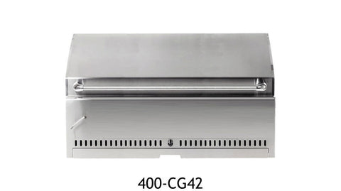 "UOL-400-CG42 42"" Stainless Charcoal Grill"
