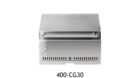 "UOL-400-CG30 30"" Stainless Charcoal Grill"