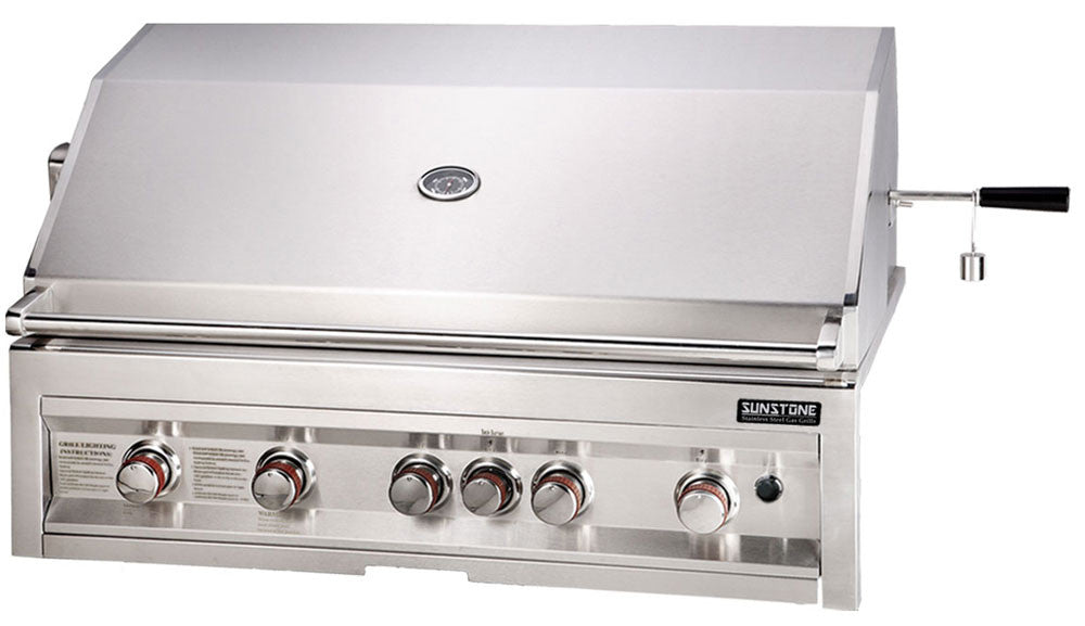 "*SUN5B-IR-NG  42"" Grill, 5 Burner, Infrared-NATURAL GAS"
