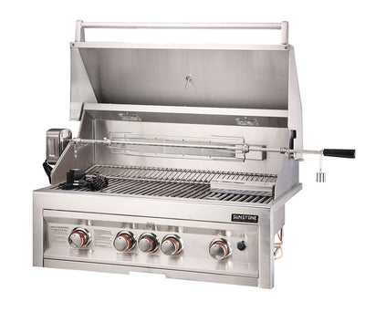 "Sunstone Infrared 4 Burner 34"" Built-In Grill"