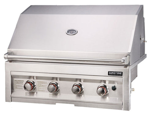 "*SUN4B-NG  34"" Grill, 4 Burner-NATURAL GAS"