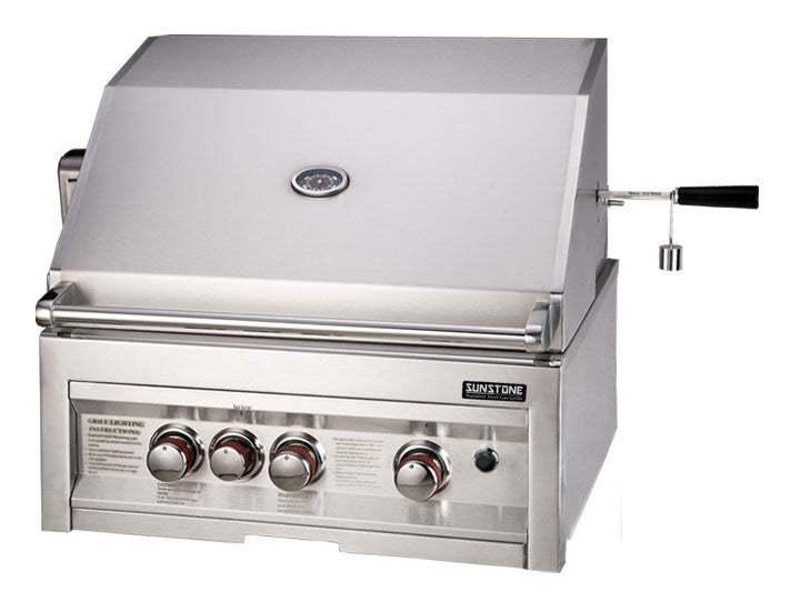 "*SUN3B-IR-NG  28"" Grill, 3 Burner, Infrared-NATURAL GAS"