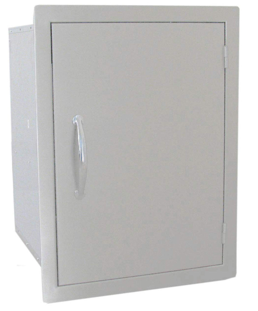 "DSV1724  17""x24"" Vertical Dry Storage w/ Shelf"