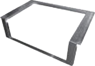 "AD-36C  Adaptor for 36"" Grill"