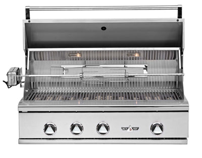 "Delta Heat 38"" Built in Grill W/Rotisserie"