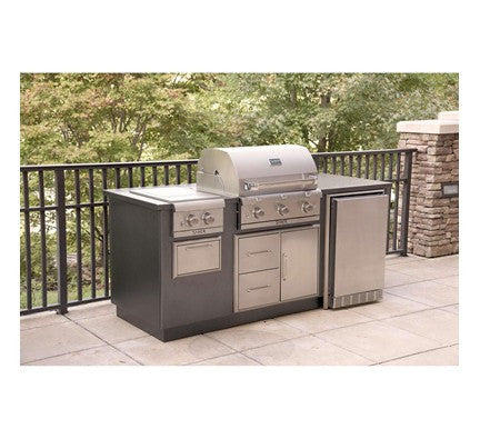 Saber EZ Outdoor Kitchen - R Series, Silver I50LK2015