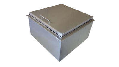 "UOL-400-2719D DROP IN ICE STORAGE 19"" X 27"" WITH CONDIMENT HOLDER"