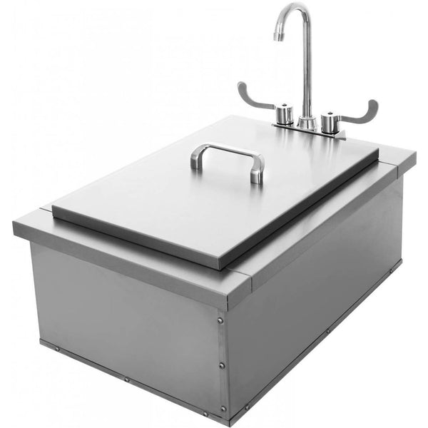 Uol 400 15di 15 Quot X24 Quot Ice Storage And Sink Bbqdeal Com