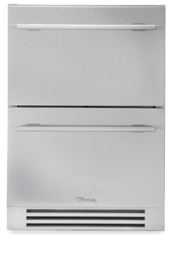 "True 24"" Under counter Refrigerator Stainless Steel Drawers"