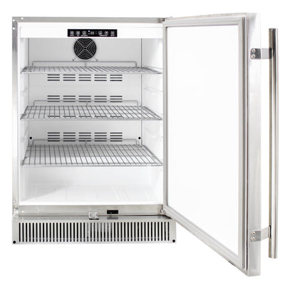 "Blaze 24"" 5.2 Outdoor Rated Stainless Refrigerator"