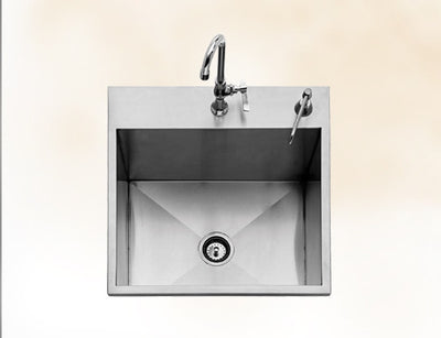 "Twin Eagles 24"" Drop In Sink"