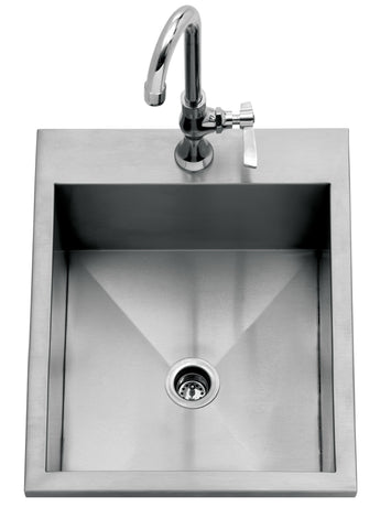 "Delta Heat Heat 15"" Drop In Sink"