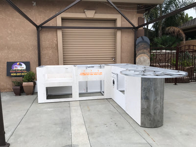 Outdoor Kitchen Frames (Call us to Schedule your Free Consultation)