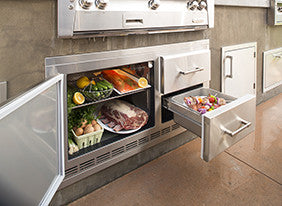 "Alfresco 42"" 7.25 Under Counter Fridge"