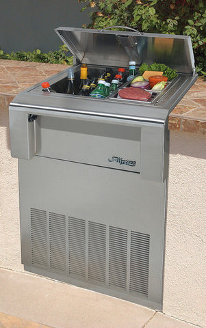 Alfresco Drop in Refrigerator w/cart