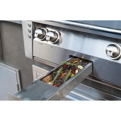 Alfresco 30 Inches Built in Grill w/ Sear Zone, Hidden Rotisserie System