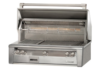 "Alfresco 42"" Built in Grill w/ SearZone and Hidden Rotisserie System"