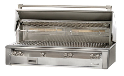 Alfresco 56 Inches Built in Grill w/ SearZone and Hidden Rotisserie System