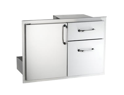 "18-30-SSDD  18"" x 30"" Door with Double Drawer"