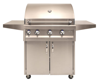 "ARTISAN - 32"" 3 BURNER WITH ROTISSERIE & LIGHT + CART"