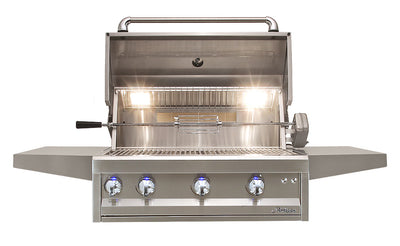 "ARTISAN - 32"" 3 BURNER WITH ROTISSERIE & LIGHT"
