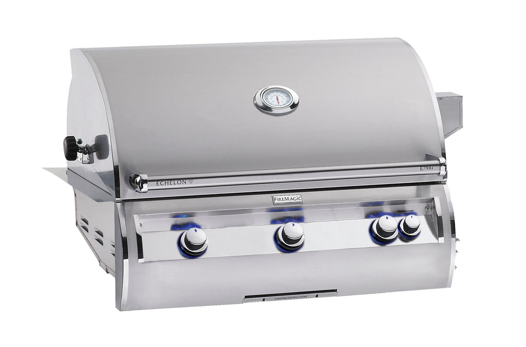 "Echelon Diamond 36"" Built in Grill w/ Analog Thermometer - A Series"