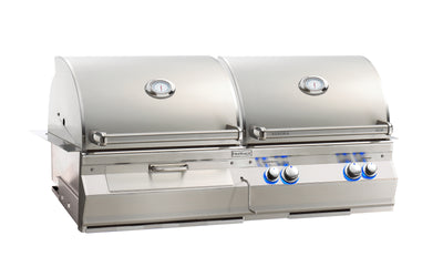 "Aurora A830i 40"" Gas / Charcoal Combo Built-In Grill"
